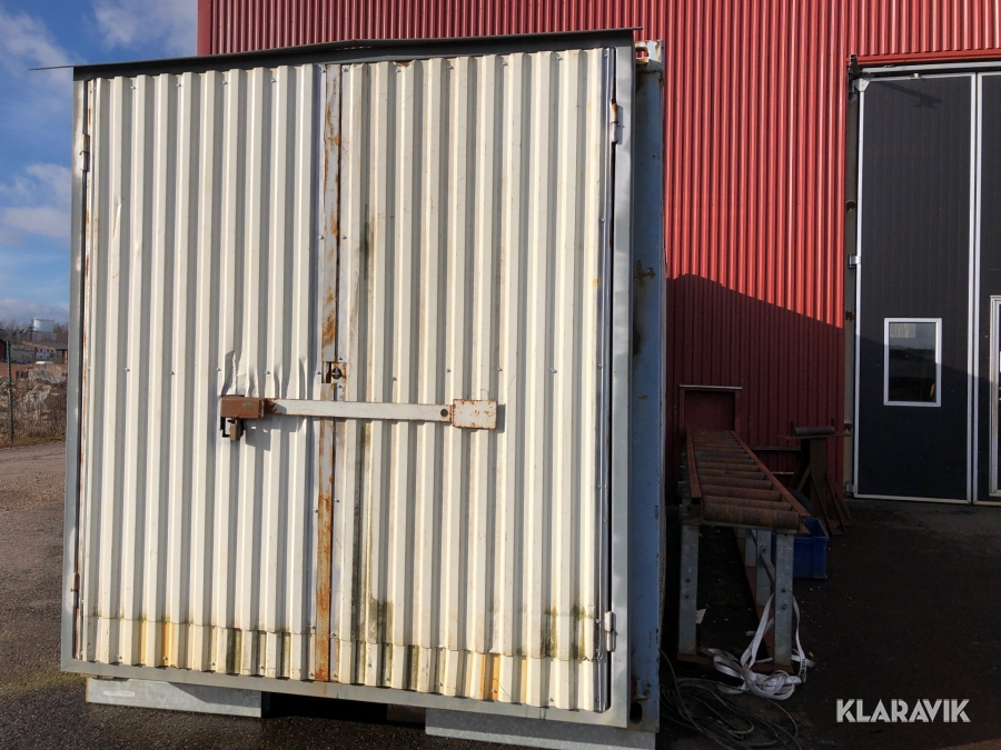 Container med inredning