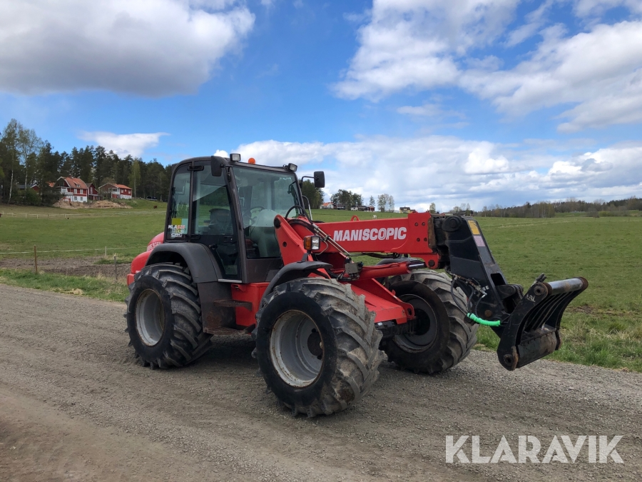 Redskapsbärare Manitou MLA628 power plus Stora BM