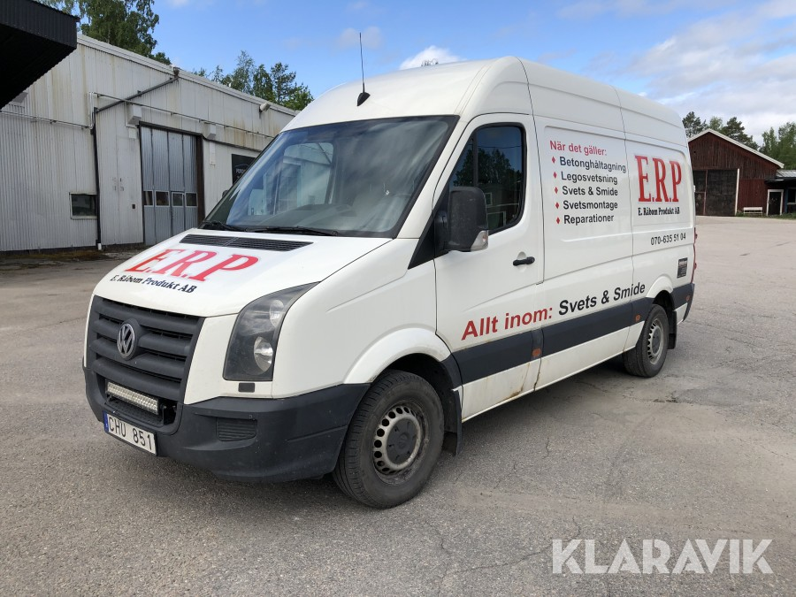 Skåpbil VW  Crafter 35 Skåp MR