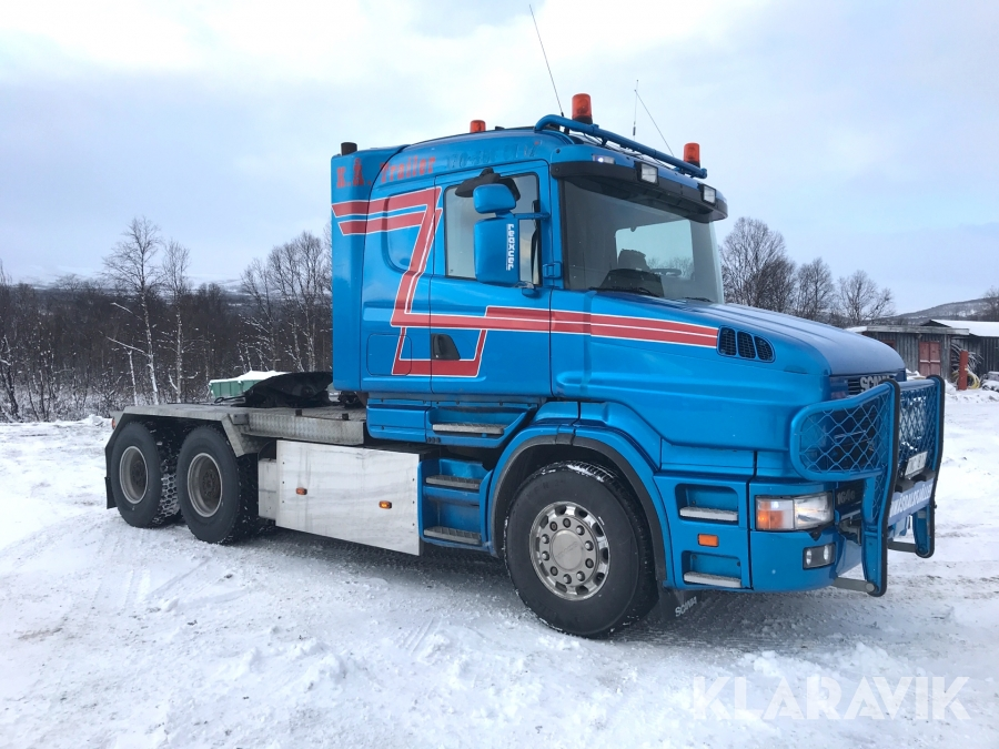 Tungdragare Scania T164 6X4