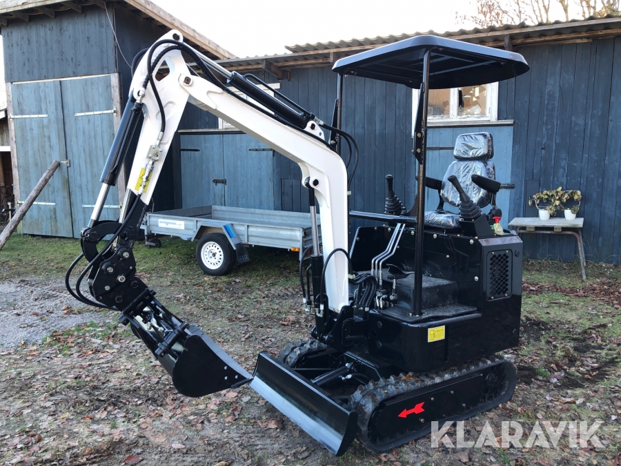 Minibandgrävare Nuoman Engineering Machinery 1,3 ton