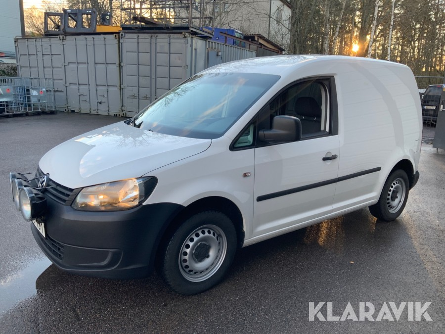 Transportbil Volkswagen Caddy 1,2TSi