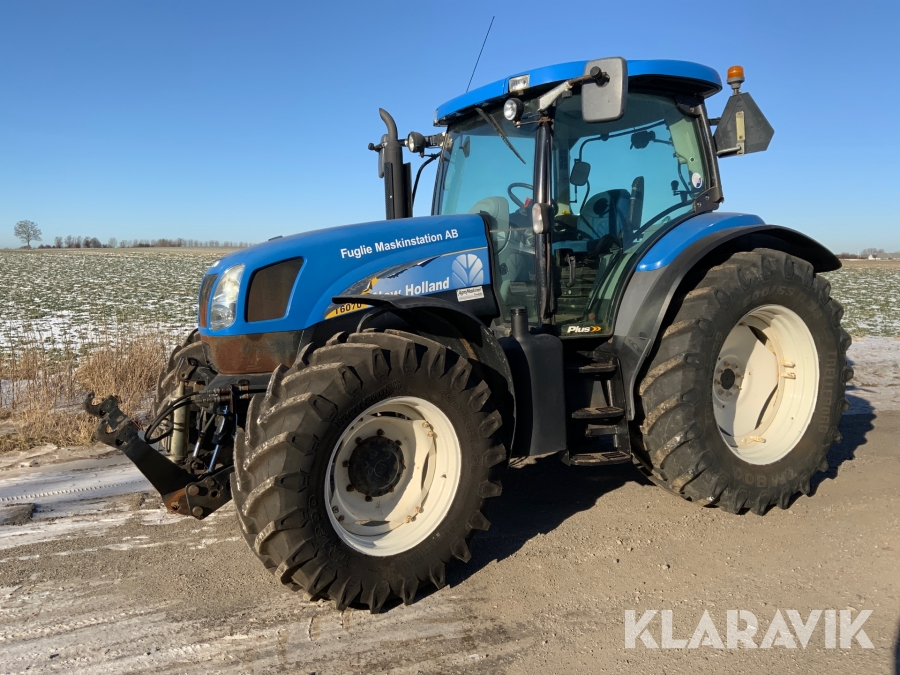 Traktor New Holland T6070 plus med frontlyft