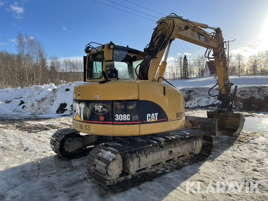 Bandgrävare CAT 308C CR