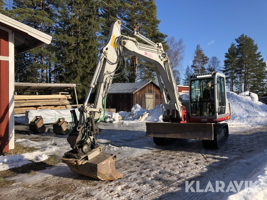 Grävmaskin Take Job TB175