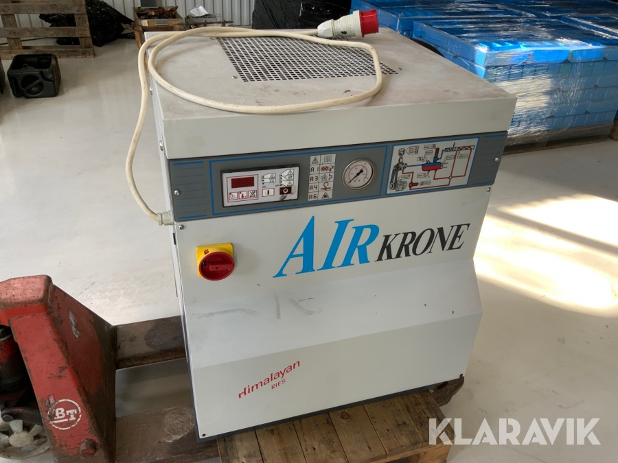 Skruvkompressor Bottarini KS10