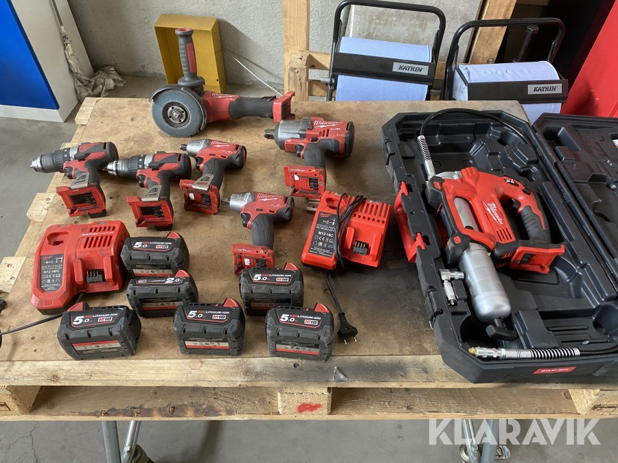 Handmaskiner Milwaukee 7st
