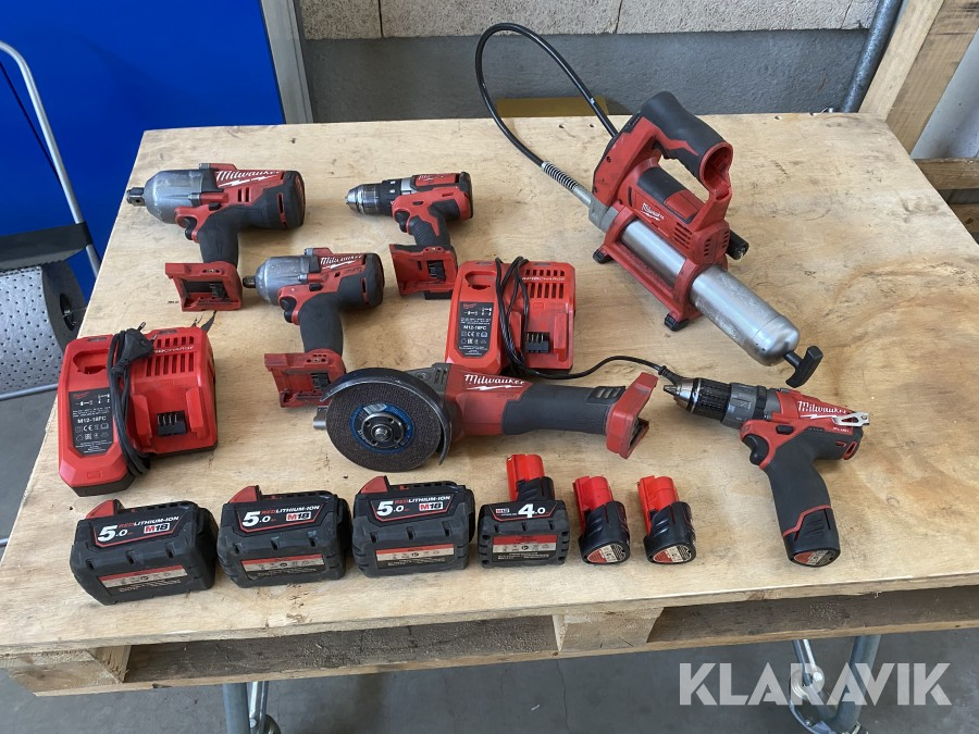 Handmaskiner Milwaukee 6st
