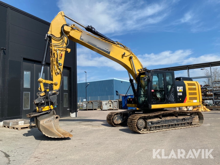 Grävmaskin Caterpillar CAT323 EL